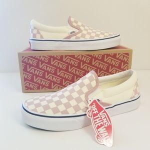 New Vans Classic Slip-On Checkerboard